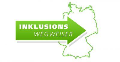 Vorläufiges Logo des Inklusionswegweiser Projektes