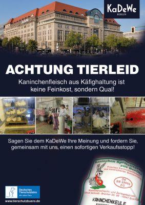 Das Fleisch der Tiere wird u. a. im Luxuskaufhaus KaDeWe in Berlin verkauft