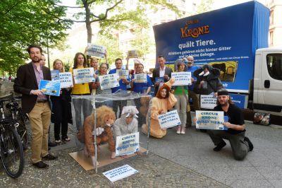 """Tierschutzbüro erfolgreich vor Berliner Gericht  """"Circus Krone quält Tiere"""" darf weiterhin gesagt werden"""