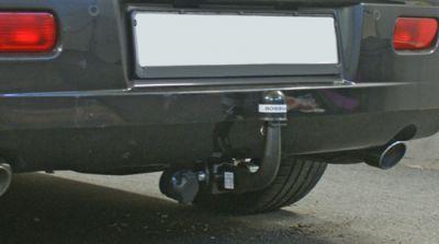 horizontal abnehmbare Anhängerkupplung nachgerüstet am 300C Touring