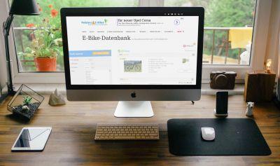 """Webseite """"Pedelecs & E-Bikes"""" mit neuer E-Bike-Datenbank von Greenfinder"""