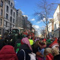 Karneval in Köln Veedelszoch Nippes das Dreigestirn