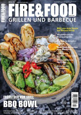 Die neue FIRE&FOOD ist jetzt am Kiosk oder online unter www.ff-grill-magazin.de erhältlich