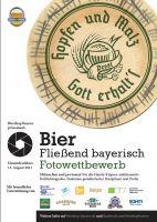 """Fotowettbewerb """"Bier - Fließend bayerisch"""""""