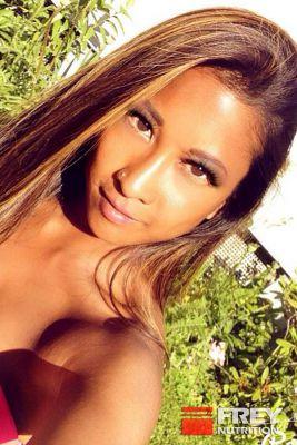 Charmaine Aguilar wird FREY Athletin
