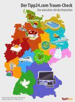 Infografik: Die Träume der Deutschen