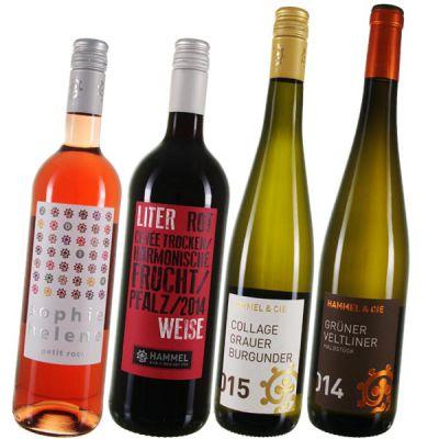 Hammel & Cie: Freche & knackige Etiketten gepaart mit leckeren Wein.