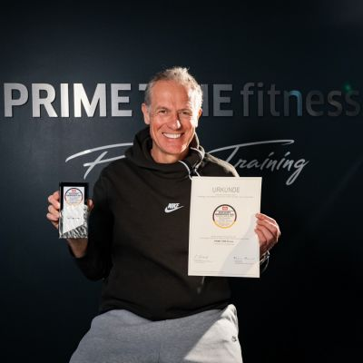 Henrik Gockel, PRIME TIME fitness & Deutscher Servicepreis 2021 (© )