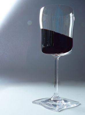 Weinglas Rotwein