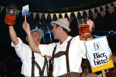 Die Bierfahne® - Das Highlight bei Festen und Veranstaltungen