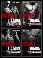 """""""Rocker Dämon"""" - Reihe - Rocker-Tetralogie von Bestsellerautorin Bärbel Muschiol (Klarant Verlag. Bremen)"""