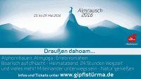 Sommeralmrausch der Gipflstürma 23.5. - 29.5.2016