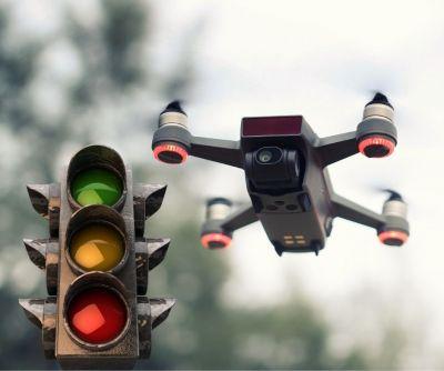 Auch für Drohnen gelten Verkehrsregeln