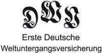 Logo der Ersten Deutschen Weltuntergangsversicherung (DWV)