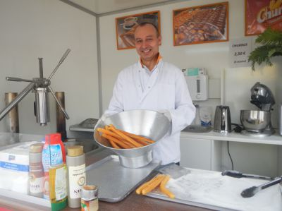 Von Madrid nach Düsseldorf: Churros-Bäcker Raoul de Castro
