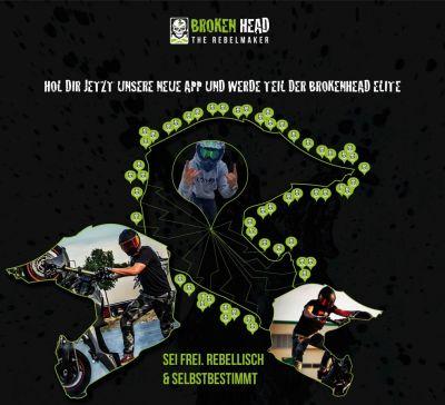 Ride With Me Broken Head App (© Broken Head)