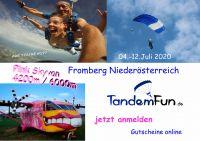 Fallschirmspringen Fromberg Niederösterreich