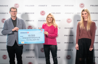 Felder Group spendet 18.000 Euro für die Kinder-Krebs-Hilfe Tirol