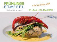 Frühlingsstaffel - Rheinland à la menu 2018