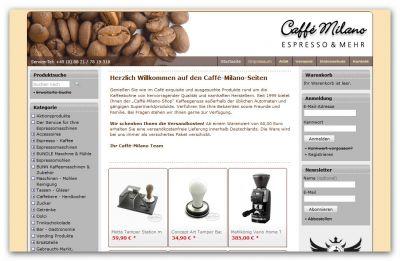 Espresso Onlineshop