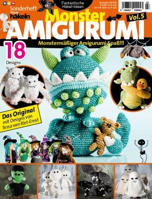 Monstermäßiger Amigurumi-Spaß mit dem 5. Heft aus der beliebten Häkel-Amigurumi Sonderheftserie der Simply Häkeln Redaktion