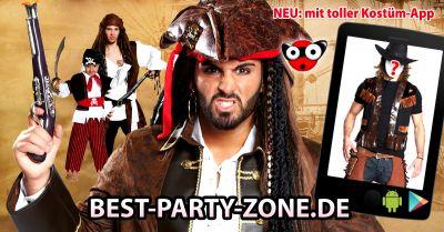 Ob als Pirat oder als Hexe, mit der neuen App sieht man schon vorher, wie man am Karneval aussehen wird!