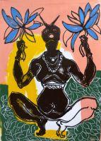"""Motiv aus der Ausstellung """"Indische Begegnungen"""""""