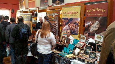 Beste Zigarren aus aller Welt wurden in der Lounge präsentiert.