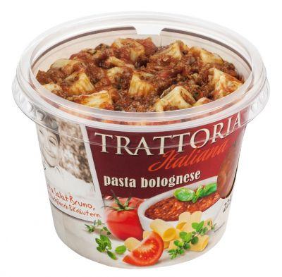 Die neuen Pasta-Snacks Trattoria Italiana von Popp Feinkost sind kalt oder warm ein Genuß