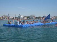 JETfloat Schwimmkörper z.B. als Badeinsel oder Badeplattform einsetzbar