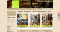 Der WineBed Onlineshop - Designer Weinregale und feine Weine
