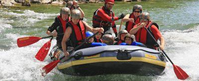 Raftinggaudi zum Junggesellenabschied