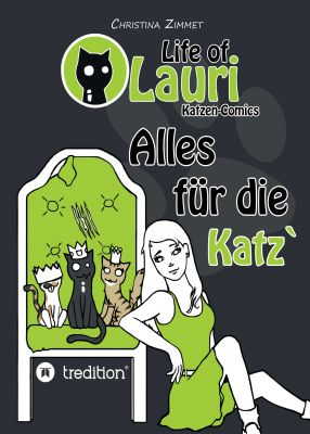 """Life of Lauri - Katzen Comics"" von Christina Zimmet"