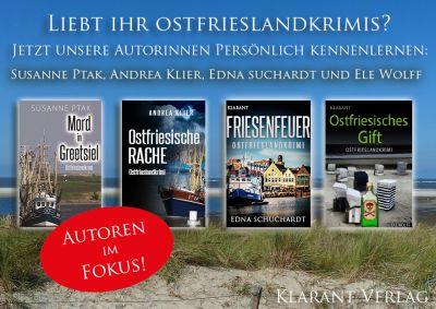 Ostfrieslandkrimi Autoren Aktion 2016 (Klarant Verlag. Bremen)