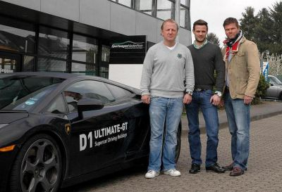 Dirk Spychala (Sportwagen Niederrhein), Tim Daum (D1 Ultimate-GT), Felix Wille (H&S Consult)