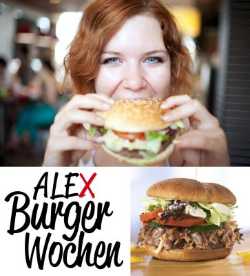 Leckere Welt-Burger im ALEX, Fotos: ALEX, shutterstock/Anatoly Tiplyashin