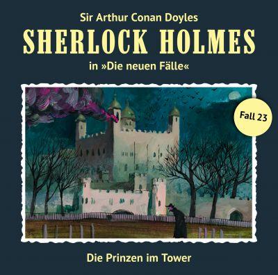 """Cover des neuen Hörspiels aus der Reihe """"Sherlock Holmes - die neuen Fälle"""""""