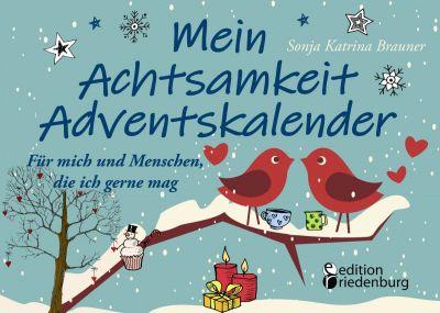 Mein Achtsamkeit Adventskalender (Cover) (© edition riedenburg)
