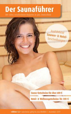 Cover des Regionalen Saunaführers mit Gutscheinen