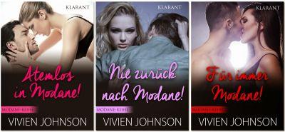 Liebesromane MODANE Reihe von Vivien Johnson (Klarant Verlag. Bremen)