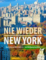 "Buchcover ""Nie wieder New York"""