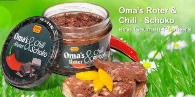 Oma's Roter mit Chilli Schoko