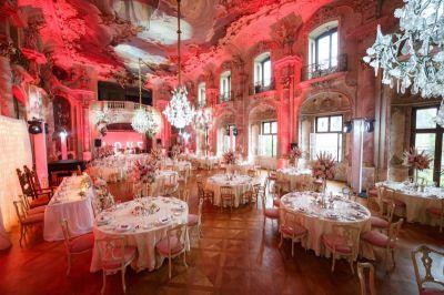 Reinweiss Hochzeiten - Hochzeit auf Schloss Bückeburg