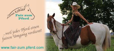 für einen fairen Umgang mit dem Partner Pferd!