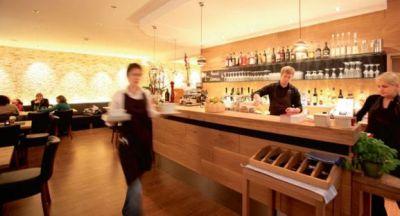 Stimmungsvolle Atmosphäre im Restaurant Maximilian in Frankfurt am Main