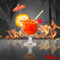 """Hot Sex On The Beach"" - der feurig exotische Sommer-Cocktail mit HotWodka."
