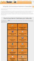 Eine Infografik zeigt unter https://www.futtertester.de/infografik.html in Echtzeit Kennzahlen rund um die Heimtiere der Deutschen