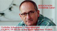 Besuch von Dominik Graf 2.8.2014, 19:30 Uhr, Kinos Münchner Freiheit