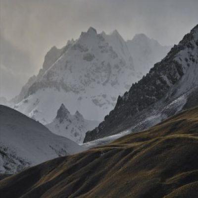 Djenghi-Djer Gebirge in Kirgisien