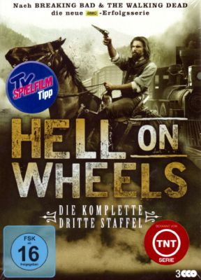 The Route 66 Shop verlost DVD-Sets der dritten Staffel von Hell On Wheels